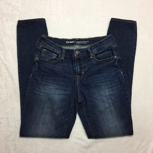 Old Navy- Curvy Mid Rise Skinny Jeans Size 2